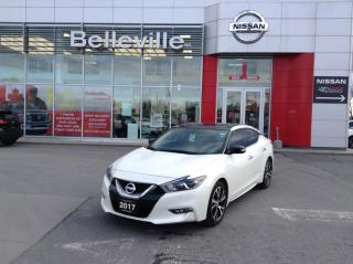 Used 2017 Nissan Maxima SL for sale in Belleville, ON