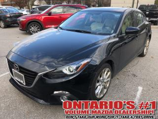Used 2016 Mazda MAZDA3 NAVIGATION,SUNROOF,LEATHER SEATING !!! for sale in Toronto, ON