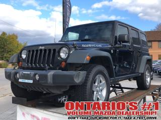 Used 2011 Jeep Wrangler Unlimited 4WD,LEATHER SEATING,ONLY 74,OOOKMS !!! for sale in Toronto, ON