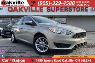 Used 2016 Ford Focus SE | HTD SEATS | HTD STEER | B/U CAM | BLUETOOTH for sale in Oakville, ON