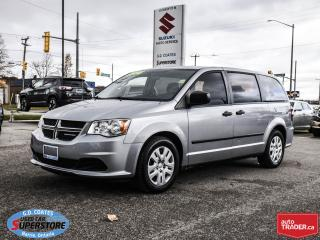 Used 2014 Dodge Grand Caravan SE ~Rear Stow 'N Go ~283 Horsepower 3.6L V6 for sale in Barrie, ON