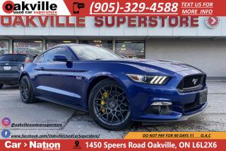 Used 2015 Ford Mustang V8 GT | MANUAL | BACKUP CAMERA | DRIVERS SPEC for sale in Oakville, ON