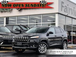 Used 2016 Jeep Cherokee Overland l PANO ROOF l HEATED SEATS l BLINDSPOT l for sale in Burlington, ON
