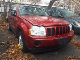 Used 2005 Jeep Grand Cherokee Laredo AS-IS FOR PARTS for sale in Ottawa, ON
