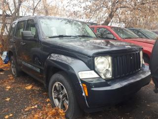 Used 2008 Jeep Liberty Sport AS-IS FOR PARTS for sale in Ottawa, ON