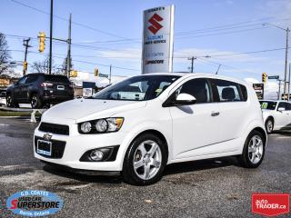 Used 2014 Chevrolet Sonic LT ~Power Moonroof ~Backup Cam ~Heated Seats for sale in Barrie, ON