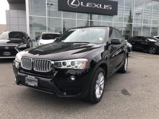 Used 2015 BMW X3 xDrive28i LOW KM, LOCAL, NO ACCIDENTS for sale in North Vancouver, BC