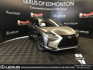 Used 2017 Lexus RX 350 F SportSeries3 for sale in Edmonton, AB