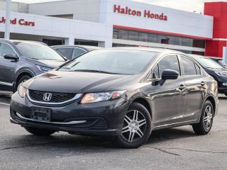 Used 2014 Honda Civic LX SERVICE HISTORY ON FILE for sale in Burlington, ON