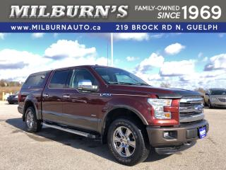 Used 2016 Ford F-150 Lariat 4x4 for sale in Guelph, ON