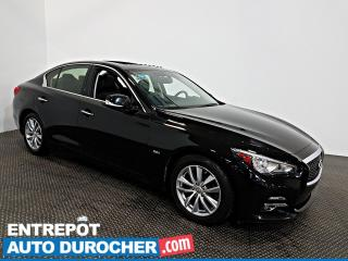 Used 2017 Infiniti Q50 3.0t AWD NAVIGATION - Toit Ouvrant - A/C - Cuir for sale in Laval, QC