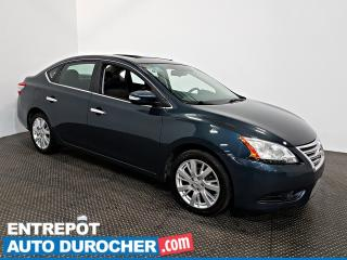 Used 2014 Nissan Sentra SL NAVIGATION - Toit Ouvrant - A/C - Cuir for sale in Laval, QC