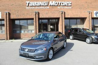 Used 2014 Volkswagen Passat HIGHLINE I NO ACCIDENT I NAVIGATION | LEATHER | SUNROOF | BT for sale in Mississauga, ON