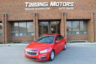 Used 2015 Chevrolet Cruze 2LT NO ACCIDENTS I LEATHER I SUNROOF I REAR CAM I BIG SCREEN for sale in Mississauga, ON
