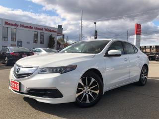 Used 2015 Acura TLX Tech - Navigation - Leather - Sunroof for sale in Mississauga, ON