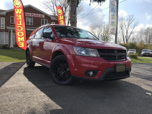 2016 Dodge Journey SXT Alloys-7 Passenger-Power Front Seats-Heated Front Seats-Power Windows