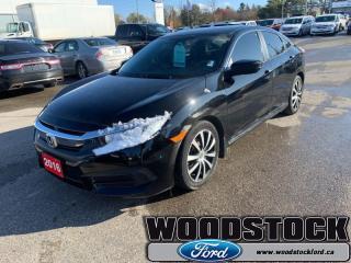 Used 2016 Honda Civic SEDAN LX for sale in Woodstock, ON