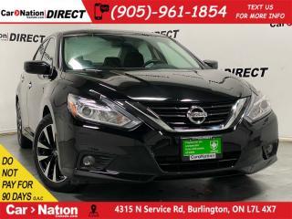 Used 2018 Nissan Altima SV| SUNROOF| HEATED SEATS & STEERING WHEEL| for sale in Burlington, ON