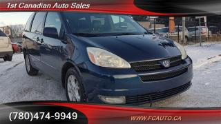 Used 2004 Toyota Sienna XLE 7 Passenger for sale in Edmonton, AB