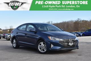 Used 2019 Hyundai Elantra Preferred - Low Kms, Immaculate Inside & Out, Blue for sale in London, ON
