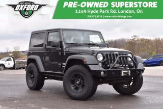 Used 2013 Jeep Wrangler Sport - Manual, Oversized Tires for sale in London, ON