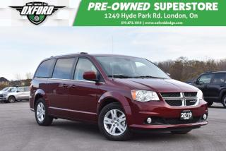 Used 2019 Dodge Grand Caravan Crew - Very Low Kms, Roof Rack, UConnect for sale in London, ON