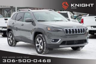 New 2020 Jeep Cherokee Limited 4x4 Turbo | Sunroof | Navigation for sale in Swift Current, SK