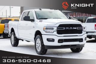 New 2019 RAM 3500 Big Horn Crew Cab | Heated Seats and Steering Wheel | Remote Start for sale in Swift Current, SK
