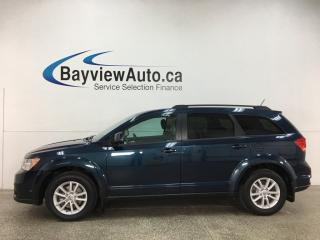 Used 2014 Dodge Journey SXT - PUSH START! DUAL A/C! BLUETOOTH! FULL PWR GROUP! for sale in Belleville, ON