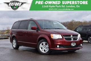 Used 2019 Dodge Grand Caravan Crew - Very Low Kms, Big Savings, UConnect, Heated for sale in London, ON