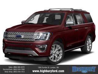 New 2020 Ford Expedition Platinum for sale in London, ON