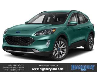 New 2020 Ford Escape Titanium Hybrid for sale in London, ON