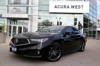 Used 2018 Acura TLX SOLD for sale in London, ON