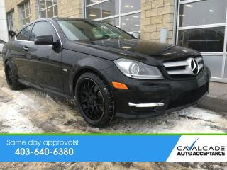 Used 2012 Mercedes-Benz C-Class for sale in Calgary, AB