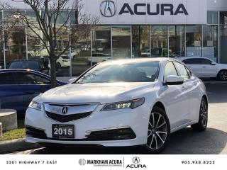 Used 2015 Acura TLX 3.5L SH-AWD w/Tech Pkg Navi, Backup Cam, Blind Spot Info for sale in Markham, ON