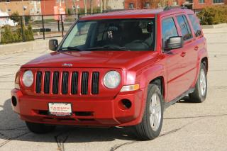 Used 2010 Jeep Patriot Sport/North NO Accidents | CERTIFIED for sale in Waterloo, ON