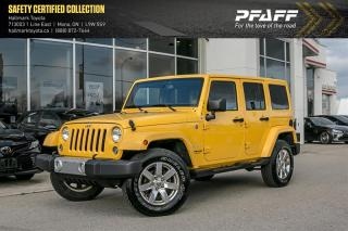 Used 2015 Jeep Wrangler Unlimited Sahara for sale in Orangeville, ON