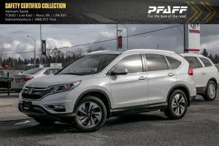 Used 2016 Honda CR-V Touring AWD for sale in Orangeville, ON