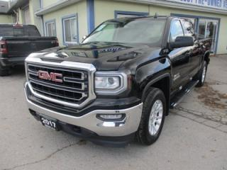 Used 2017 GMC Sierra 1500 WORK READY KODIAK - SLE EDITION 5 PASSENGER 5.3L - V8.. 4X4.. CREW.. SHORTY.. TRAILER BRAKE.. BACK-UP CAMERA.. BLUETOOTH SYSTEM.. for sale in Bradford, ON