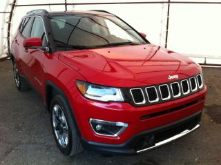 Used 2018 Jeep Compass Limited NAVIGATION, LANE DEPART WARNING, BLIND SPOT DETECTION for sale in Ottawa, ON