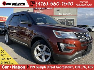 Used 2016 Ford Explorer XLT NAVI LEATHER| PANO ROOF| B/U CAM| 4X4| RARE for sale in Georgetown, ON