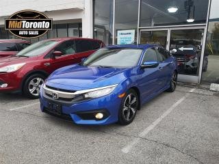 Used 2016 Honda Civic Touring   Navigation   Power Roof   Leather   No Accidents   One Owner   for sale in North York, ON