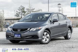 Used 2014 Honda Civic 1 Owner Clean Carfax New Tires & Brakes Finance for sale in Bolton, ON