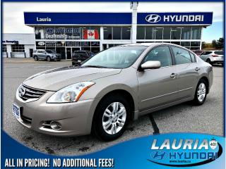 Used 2011 Nissan Altima 2.5 SL - Low Kms! for sale in Port Hope, ON