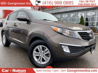 Used 2013 Kia Sportage LX HTD SEATS| BLUETOOTH| ALLOYS| FOGS| SERVICED for sale in Georgetown, ON