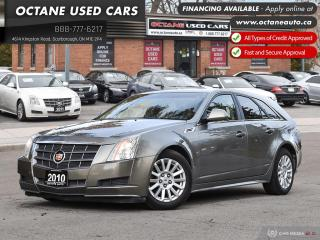 Used 2010 Cadillac CTS 3.0L AWD! Certified! ON SALE! for sale in Scarborough, ON