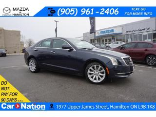 Used 2017 Cadillac ATS 2.0L Turbo 2.0L | LEATHER | SUNROOF | REAR CAM | XM RADIO for sale in Hamilton, ON
