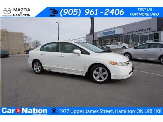 Used 2007 Honda Civic EX | AS-TRADED | SUNROOF | 5 SPEED | A/C for sale in Hamilton, ON