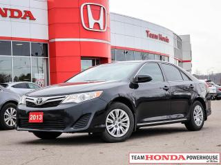 Used 2013 Toyota Camry LE for sale in Milton, ON