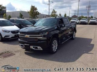New 2020 Chevrolet Silverado 1500 High Country - Leather Seats for sale in Bolton, ON